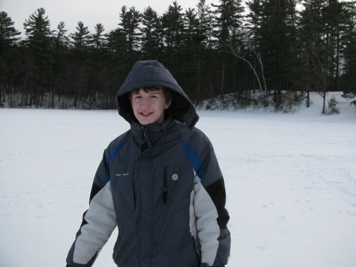 David on the Ice