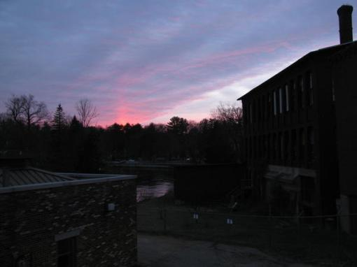 Sunset on the Mill